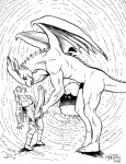 anthro ball_fondling balls black_and_white cave comic dragon equine erection exposed female fondling gustav_(here_there_be_dragons) here_there_be_dragons horse hyper hyper_penis interspecies karno male mammal monochrome penis scalie size_difference wings zashy  Rating: Explicit Score: 9 User: arcon45 Date: April 18, 2010