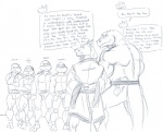 alligator condom couple dialog donatello_(tmnt) english_text filled_condom gay humor leatherhead leonardo_(tmnt) male michelangelo_(tmnt) raphael_(tmnt) rat reptile rodent scalie splinter staticlustdemons teenage_mutant_ninja_turtles text turtle   Rating: Safe  Score: 7  User: toboe  Date: July 04, 2013
