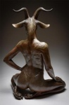 ambiguous_gender butt caprine clothing colin_poole feet goat hand_on_hip hand_on_thigh horn invalid_tag kneeling kristine_poole long_neck mammal sculpture seen_from_the_back shoulders solo thong   Rating: Questionable  Score: 1  User: Tragelaphus  Date: April 27, 2015