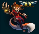 aviator_hat awesomenauts canine claws female fox gun mammal official_art penny_fox ranged_weapon solo suit weapon   Rating: Safe  Score: 1  User: Transducer  Date: April 14, 2014