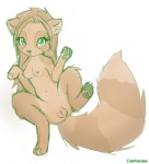 anthro breasts coonkun cub cute female feral green_eyes loli looking_at_viewer nipples nude paws pussy simple_background solo spread_legs spreading vivian white_background young  Rating: Explicit Score: 23 User: Wildstylez Date: June 17, 2010