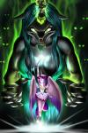 2015 <3 absurd_res anthro anthrofied breasts changeling claws cleavage clothed clothing crystal dress duo elbow_gloves equine fangs female friendship_is_magic gem gloves glowing glowing_eyes green_eyes hair hi_res horn mammal melee_weapon multicolored_hair my_little_pony mykegreywolf necklace polearm princess_cadance_(mlp) purple_eyes queen_chrysalis_(mlp) sailor_moon_(series) scepter sceptre sharp_teeth size_difference slit_pupils staff teeth weapon winged_unicorn wings  Rating: Safe Score: 10 User: 2DUK Date: April 06, 2015