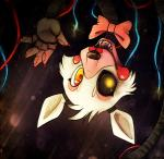 anthro bow_tie canine cute female five_nights_at_freddy's five_nights_at_freddy's_2 fox hanging mammal mangle_(fnaf) maonii nails open_mouth solo video_games wire  Rating: Safe Score: 24 User: Vallizo Date: March 20, 2015