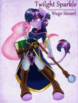 2015 ambris anthro anthrofied book clothed clothing equine female friendship_is_magic fur hair horn mammal my_little_pony purple_eyes purple_fur purple_hair smile solo staff twilight_sparkle_(mlp) unicorn  Rating: Safe Score: 11 User: ultragamer89 Date: June 30, 2015""