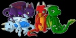 alpha_channel askatrash balls blue_scales chibi dragon feral green_scales group horn lying male penis penis_tip phlegethon plain_background purple_scales red_scales scalie sitting solargem standing sytheras transparent_background turén western_dragon wings   Rating: Explicit  Score: 2  User: Guglehupf  Date: March 26, 2015