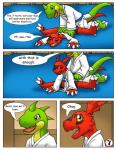 comic digimon dojo guilmon karate reptile scalie splits spread_legs spreading text  Rating: Safe Score: 3 User: hector21314 Date: April 25, 2015""