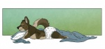 anthro blanket canine cub cute diaper eyes_closed infantilism male mammal moose_bmd pillow sleeping smile solo wolf young   Rating: Safe  Score: 5  User: Otsoko  Date: July 05, 2012