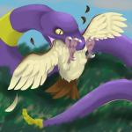 ambiguous_gender avian bird cloud duo eating ekans grass malus22 nintendo outside pidgey pokémon rattlesnake reptile saliva scalie snake talons video_games vore wings   Rating: Questionable  Score: 6  User: UNBERIEVABRE!  Date: July 03, 2014