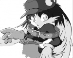 anthro cabbit cat cub cute feline games greyscale hybrid klonoa klonoa_(series) lagomorph male mammal momiji_yu-ga monochrome rabbit solo young   Rating: Safe  Score: 2  User: The Dog In Your Guitar  Date: April 07, 2007
