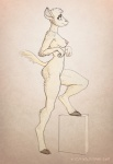 2011 anthro box breasts caprine cloven_hooves cute female fur hooves innocent mammal monochrome nipples nude pink_nipples pose sepia sheep side_view solo tan_background white_fur wool zaggatar   Rating: Questionable  Score: 10  User: BrainFullOfShit  Date: May 13, 2011