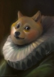 2013 ambiguous_gender anthro brown_eyes canine davidlojaya dog doge fusion inspired_by_proper_art looking_at_viewer mammal meme painting shiba_inu solo what   Rating: Safe  Score: 52  User: Patchi  Date: January 07, 2014