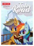 absurd_res blue_eyes book comic cover cover_page duo equine female feral friendship_is_magic grey_hair hair hi_res hioshiru hooves male mammal multicolored_hair my_little_pony pegasus quibble_pants_(mlp) rainbow_dash_(mlp) rainbow_hair reading smile wingsRating: SafeScore: 26User: MillcoreDate: April 25, 2017