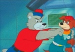 angry animated anthro around_the_world_with_willy_fog belt blue_pants canine duo fear fist_pump group handkerchief low_res male mammal punch red_shirt unknown_artist willy_fog   Rating: Safe  Score: 0  User: deadjackal  Date: October 11, 2010