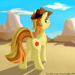 braeburn_(mlp) butt cutie_mark earth_pony equine friendship_is_magic hair hat horse male mammal my_little_pony outside pony psixxxerr solo  Rating: Safe Score: 0 User: PsixXxerR Date: June 01, 2015