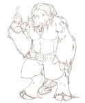 bell belt cat clothing dalton feline feral hooves horn iruka male mane muskox sefeiren shorts size_difference sketch smile solo   Rating: Safe  Score: 2  User: otterface  Date: January 05, 2010