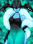 alien blue_skin cleavage clothed clothing dress female lips not_furry solo the_wonderful_101 vijounne wide_hips  Rating: Safe Score: 1 User: Juni221 Date: July 29, 2015