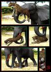 blood cheetah comic drages duo elephant feline feral forced improvised_dildo male mammal penis rape   Rating: Explicit  Score: -9  User: JazztheJizz  Date: February 24, 2015