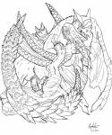 barbs bite clawing claws dragon feral fur line_art male male/male monster_hunter nargacuga penetration penis ryshili scalie sex tigrex unusual_penis video_games wings wyvern   Rating: Explicit  Score: 0  User: BlackMew  Date: January 03, 2014