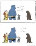 anteater anthro bear beast_(marvel) comic costume cute english_text female hi_res humor lagomorph liz_climo long_snout male mammal marvel mustelid rabbit rogue_(marvel) scott_summers snout tamandua text wolverine x-menRating: SafeScore: 14User: slyroonDate: March 21, 2013