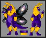 2017 antennae anthro arthropod butt digital_media_(artwork) female fluffy hi_res hybrid insect kobold looking_at_viewer model_sheet moth mothbold nude pussy scalie shaded smile solo standing star stardust_(zephyr) stupidshepherd wings zephyr_cloudrunner