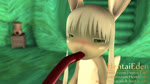 16:9 3d_(artwork) 3d_animation animal_humanoid animated anthro blush bodily_fluids brown_body brown_fur digital_media_(artwork) fellatio female flat_chested fluffy fluffy_tail fur green_eyes hair hentaieden humanoid lagomorph lagomorph_humanoid leporid leporid_humanoid made_in_abyss mammal mammal_humanoid nanachi nude open_mouth oral oral_penetration penetration penile rabbit rabbit_humanoid saliva sex short_playtime solo sound tentacle_in_mouth tentacle_penetration tentacle_sex tentaclejob tentacles webm white_hair widescreen