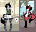 2017 3_toes absurd_res anthro biped black_hair black_nose black_tail bottomwear breasts canine chest_tuft cigarette clothed clothing colored_sketch detailed_background dipstick_ears dipstick_tail dirty_scoundrel dirtyscoundrel duo featureless_breasts featureless_crotch female flat_chested fox fully_clothed fur gloves_(marking) green_clothing green_topwear grey_clothing grey_legwear hair hi_res legwear mammal markings multicolored_clothing multicolored_ears multicolored_fur multicolored_legwear multicolored_tail multicolored_topwear multiple_images nude purple_ears purple_eyes purple_fur red_ears red_fur red_tail rory_(dirtyscoundrel) signature sketch skirt smoking socks_(marking) standing striped_clothing striped_legwear stripes toes topwear tree tuft two_tone_clothing two_tone_ears two_tone_legwear two_tone_tail two_tone_topwear white_bottomwear white_clothing white_fur white_skirt wolfRating: SafeScore: 1User: TheVileOneDate: April 14, 2018