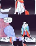 aftertale animated_skeleton blood bone clothed clothing comic dialogue english_text geno_sans_(aftertale)_(character) loverofpiggies male mammal not_furry sans_(undertale) scarf skeleton text undead undertale video_games wounded  Rating: Safe Score: 6 User: Valmar Date: April 20, 2016