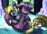 2015 bag blonde_hair derp_eyes derpy_hooves_(mlp) duo equine eyes_closed female friendship_is_magic hair harwick horn hug inside letter mail mammal messenger_bag messy_hair multicolored_hair my_little_pony pegasus purple_hair twilight_sparkle_(mlp) winged_unicorn wings yellow_eyes   Rating: Safe  Score: 9  User: 2DUK  Date: March 10, 2015