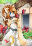 arthropod butterfly chibi-nuffie female insect mammal sarashi   Rating: Safe  Score: 5  User: slyroon  Date: March 19, 2015