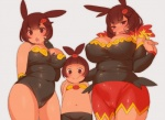 anthro big_breasts breasts chubby emboar female nintendo pignite pokémon tepig video_games  Rating: Explicit Score: 1 User: ToshiroUzumaki Date: November 29, 2015