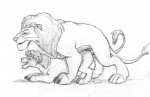 age_difference anal chris_mckinley disney duo feline feral incest lion male male/male mammal mufasa simba sketch the_lion_king  Rating: Explicit Score: 6 User: Vinea Date: January 09, 2016
