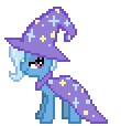 alpha_channel animated cape cool_colors desktop_ponies equine female feral friendship_is_magic horse my_little_pony plain_background pony solo sprite transparent_background trixie_(mlp) wizard_hat yamino   Rating: Safe  Score: 1  User: Señor_Ratman  Date: August 03, 2011