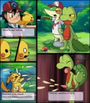anus ash_ketchum black_eyes comic cum english_text eyes_closed gay hat hi_res male nintendo penis pikachu pokémon psycho_snivy red_eyes snivy text treecko tricksta video_games white_eyes yellow_eyes   Rating: Explicit  Score: 7  User: Pink-Tricycle  Date: March 23, 2011