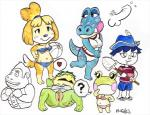 alli_(animal_crossing) alligator amphibian animal_crossing anthro bikini blush canine clothing crossgender dog female frog group human isabelle_(animal_crossing) j_hughes kapp'n kappa lily_(animal_crossing) male mammal navel nintendo penis pussy reptile scalie shih_tzu swimsuit video_games villager_(animal_crossing)   Rating: Explicit  Score: 4  User: Juni221  Date: March 06, 2014