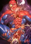 cum cum_in_ass cum_inside hi_res human male male/male mammal not_furry penis spider-man tongue tongue_out venom  Rating: Explicit Score: 4 User: gayguy1 Date: February 01, 2016