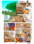 anthro chip_'n_dale_rescue_rangers chip_(cdrr) chipmunk comic crossed_arms dale_(cdrr) deer_bambi disney english_text female gadget_hackwrench human male mammal mouse rodent text tongue tongue_out   Rating: Safe  Score: -1  User: RocketSeason101  Date: May 29, 2015