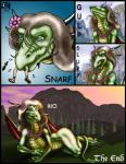 2001 anthro blue_eyes brown_hair claws clothed clothing comic dragon duo english_text female flower footwear green_scales hair horn human licking licking_lips long_hair male mammal markie nude open_mouth outside plant saliva sandals scalie size_difference slit_pupils swallowing sword teeth text toe_claws tongue tongue_out tree vore weapon wings yellow_scales   Rating: Questionable  Score: -2  User: GameManiac  Date: April 20, 2015