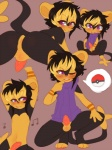 anthro anus armpits balls barbed_penis black_fur black_hair blonde_hair bottomless claralaine clothed clothing cub erection fan_character fur girly hair luxio male nintendo nude open_mouth pawpads penis pokéball pokémon presenting presenting_anus purple_eyes shiny_pokémon shota simple_background solo spreading tapering_penis teeth video_games yellow_fur youngRating: ExplicitScore: 8User: Damien-The-Red-PandaDate: February 07, 2017