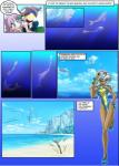 beach cetacean comic dialogue digital_media_(artwork) dolphin english_text female fleetfoot_(mlp) fluttershy_(mlp) friendship_is_magic group hair human humanized male mammal marine mauroz multicolored_hair my_little_pony outside pink_hair purple_eyes rainbow_dash_(mlp) seaside star_eyes text tree underwater water wonderbolts_(mlp) x_sign   Rating: Safe  Score: 3  User: the_burning_spirit  Date: July 26, 2014