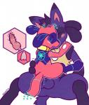 anal anal_penetration balls canine cub duo knot knotting lucario male male/male mammal nintendo penetration penis pokémon riolu sex shugowah video_games young   Rating: Explicit  Score: 18  User: 745795313  Date: October 07, 2014