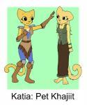 anthro duo feline female humor katia_managan khajiit mammal prequel rajirra the_elder_scrolls the_elder_scrolls_iv:_oblivion video_games   Rating: Safe  Score: 19  User: Zenti  Date: December 12, 2014
