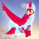 diaper female flying latias legendary_pokémon nintendo plinkiepoi pokémon pokémon_(species) smile solo video_gamesRating: QuestionableScore: 4User: Nugget91Date: January 31, 2018