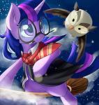 avian aymint beak bird broom clothing equine feathered_wings feathers female feral friendship_is_magic fur hair harry_potter horn horse mammal multicolored_hair my_little_pony owl owliscious_(mlp) pony purple_eyes twilight_sparkle_(mlp) unicorn uniform wand wings  Rating: Safe Score: 5 User: QuetzalcoatlColorado Date: April 30, 2016