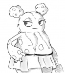 chubby clothing female garbodor nintendo pokémon raggedy skirt solo video_games   Rating: Questionable  Score: 1  User: Juni221  Date: July 29, 2013