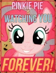 1984_(novel) big_brother blue_eyes breaking_the_fourth_wall crossover english_text equine fallout fallout_equestria female friendship_is_magic fur horse mammal meme my_little_pony pink_fur pinkie_pie_(mlp) pony poster propaganda risenlordm solo text   Rating: Safe  Score: 10  User: Miss_Fluttershy  Date: June 09, 2011