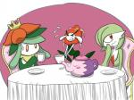 ambiguous_gender female florges gardevoir lilligant nintendo pokémon red_eyes video_games   Rating: Safe  Score: 0  User: Juni221  Date: March 03, 2014