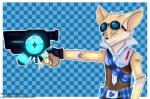 absurd_res belt black_nose blue_eyes canine claws clothing damian5320 explosives eyewear fennec fox fur gloves goggles grenade gun hi_res holding_object holding_weapon mammal neikthefish paladins pip_(paladins) ranged_weapon simple_background vial weapon yellow_furRating: SafeScore: 6User: Damian5320Date: June 30, 2018