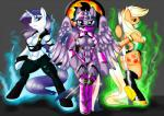 anthro anthrofied applejack_(mlp) aura blonde_hair blue_eyes breasts butt cleavage clothed clothing cosplay costume cultmasteraranukon cutie_mark earth_pony equine eyelashes eyeshadow female freckles friendship_is_magic glowing green_eyes group hair horn horse jade looking_at_viewer makeup mammal melee_weapon mileena mortal_kombat my_little_pony navel orange_skin polearm pony purple_eyes purple_hair purple_skin rarity_(mlp) sonya_blade staff twilight_sparkle_(mlp) unicorn video_games weapon white_skin winged_unicorn wings  Rating: Questionable Score: 12 User: Champion_of_Harmony Date: June 14, 2014