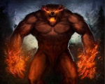 abs angry anthro bear biceps big_muscles black_nose brown_fur claws dasaod demon detailed detailed_background digital_media_(artwork) fangs fire forest fur lava long_claws looking_at_viewer male mammal muscular naturally_censored night nipples no_pupils nude open_mouth orange_eyes outside pecs pose pubes rage saliva sharp_claws sharp_teeth solo standing teeth tree vein  Rating: Safe Score: 2 User: Vanzilen Date: December 03, 2015
