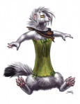2014 ambiguous_gender bandanna corset fur hair mammal mustelid sabretoothed_ermine solo weasel white_fur white_hair yellow_eyes   Rating: Safe  Score: 6  User: TonyLemur  Date: May 15, 2014